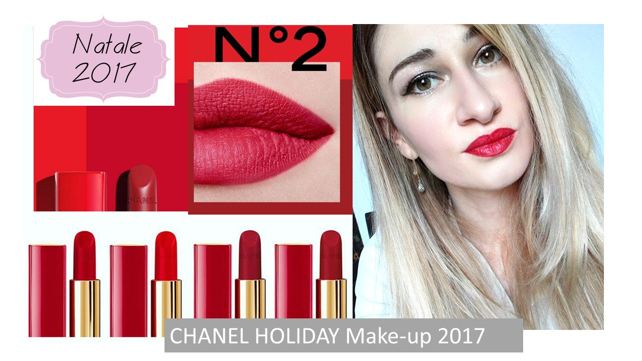 Chanel Make-up Natale 2017