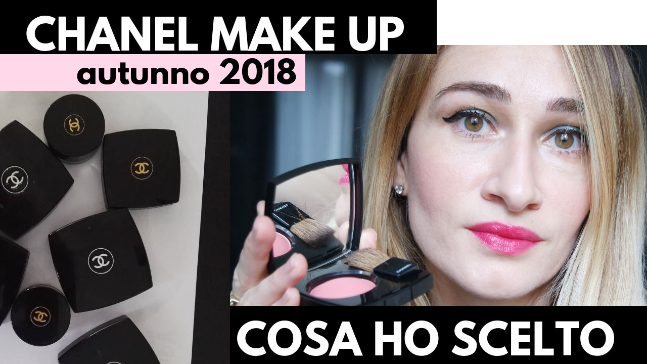 Chanel Make up Autunno 2018