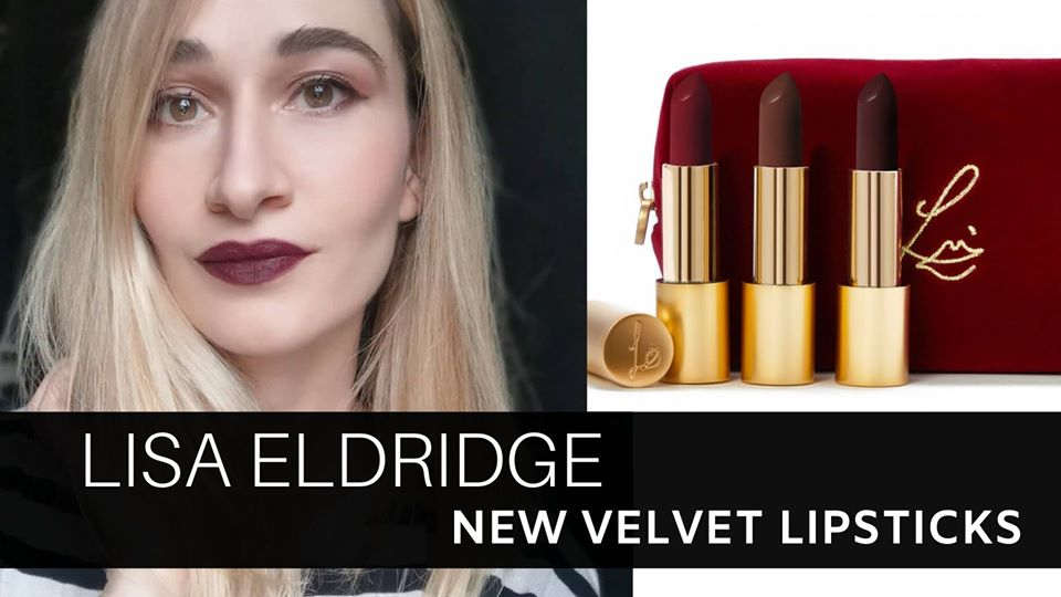 Lisa Eldridge New Velvet Lipsticks
