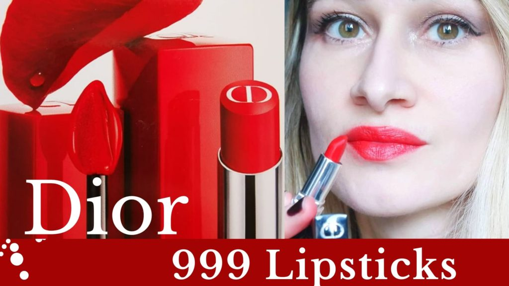 DIOR makeup red lipsticks