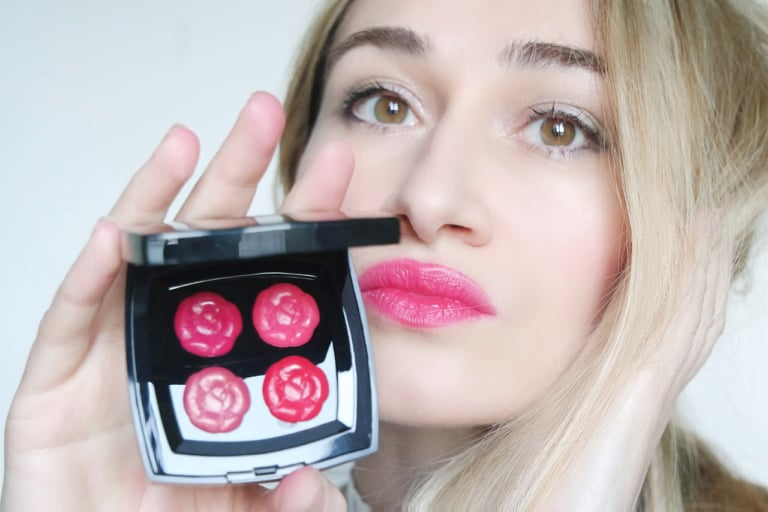 Chanel Camelia Lip palette
