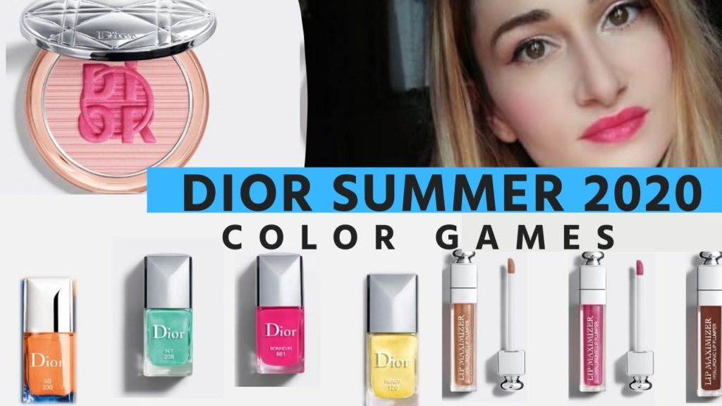 Dior Color games Summer 2020 makeup