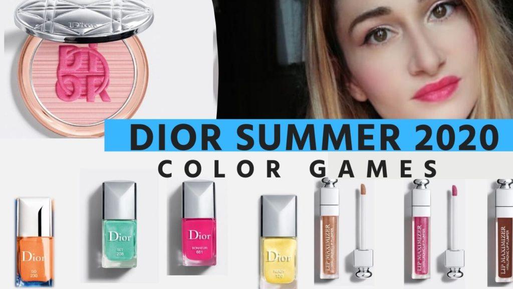 Dior Color games Summer 2020 makeup