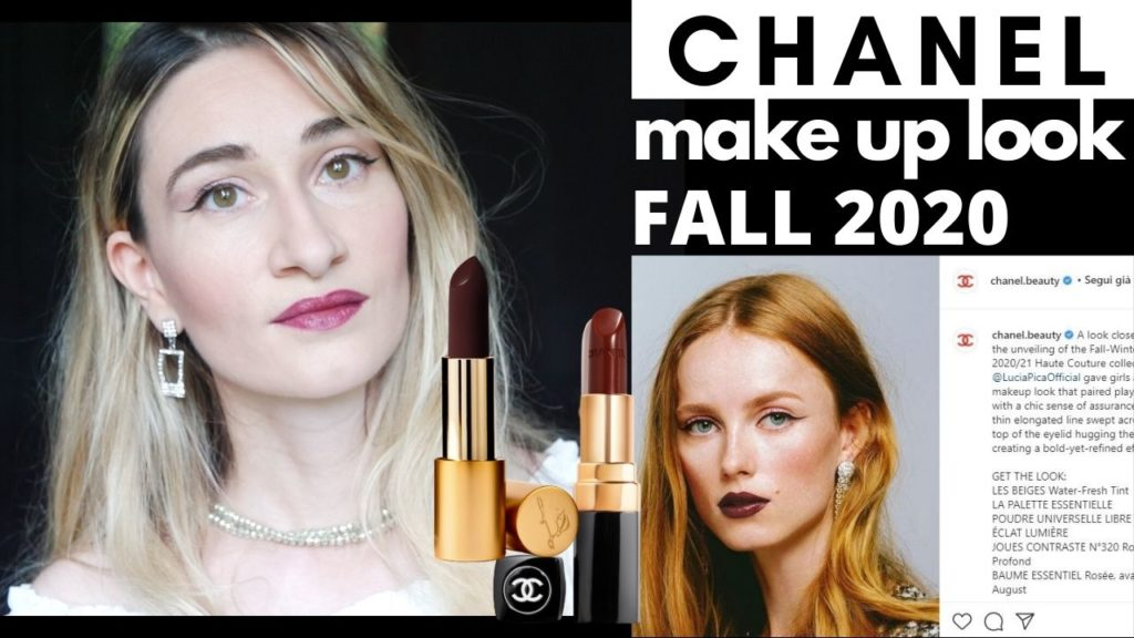 Chanel makeup 2020