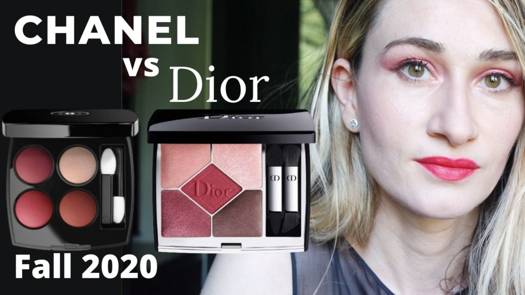Chanel & Dior eyeshadows Fall 2020